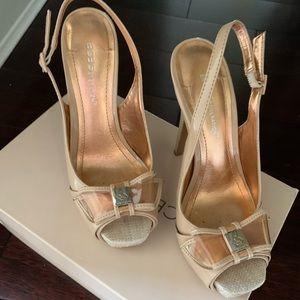 BCBG dressy sandals